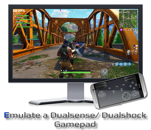 PSPad: Mobile Dualshock Gamepad for PS5/ PS4 android2mod screenshots 1
