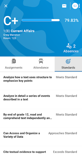 PowerSchool Mobile 2.4.2 Screenshots 4