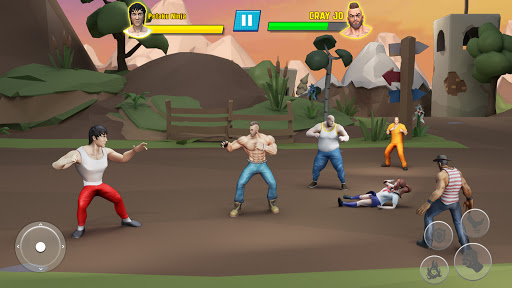 Beat Em Up Fighting Games: Kung Fu Karate Game 3.5 screenshots 3