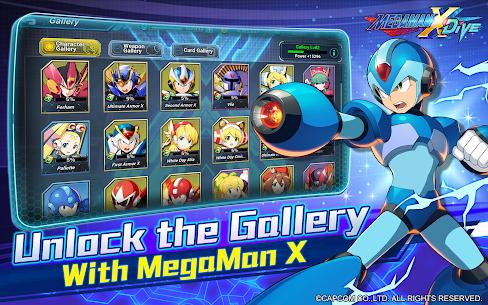 MEGA MAN X DiVE – MOBILE 7