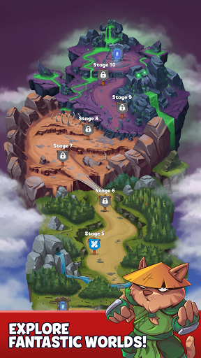 Heroes & Elements: Match 3 Puzzle RPG Game apktreat screenshots 2
