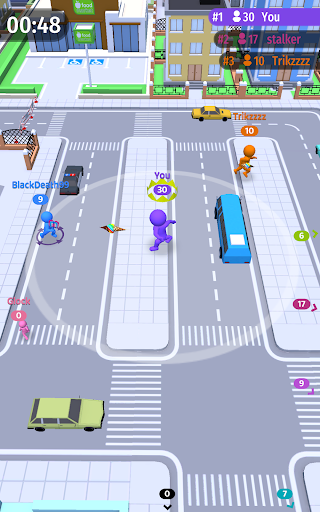Move.io: Move Stop Move - Stickman Crowd 3D 0.0.56 screenshots 13