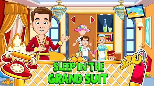My Town : Hotel For Android [Paid, MOD] 3