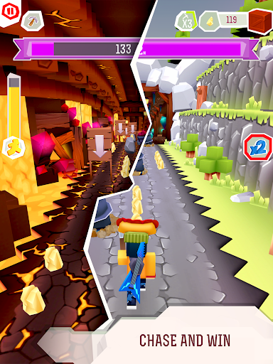 Chaseu0441raft - EPIC Running Game. Offline adventure.  screenshots 10