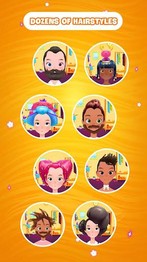 Hair salon games : Hair styles and Hairdresser apkdebit screenshots 4
