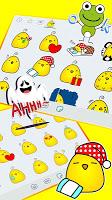 Baby Chicken Emoji Stickers