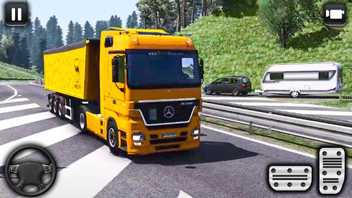 euro un camion parking défi: conduite simulateur APK MOD screenshots 3