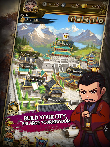 Match 3 Kingdoms: Epic Puzzle War Strategy Game apkdebit screenshots 12