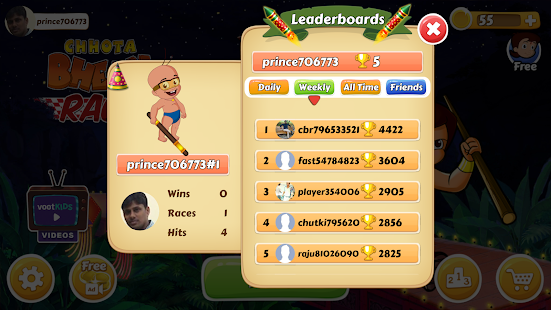 Chhota Bheem Race Game Screenshot