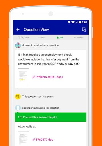 Course Hero | Homework Help 2.9.40 Screenshots 4