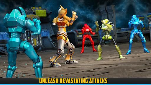 Robot X Street Battle: Beat Em Up Warrior Assassin apkmr screenshots 6