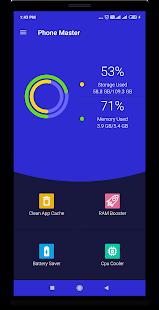 Phone Master –Junk cleaner master, Battery Cooler