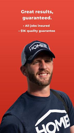 HOMEE: 24/7 Handyman, Plumber, Electrician & HVAC 6.0.1 Screenshots 7