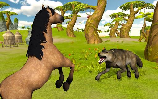 Ultimate Horse Simulator - Wild Horse Riding Game 0.2 screenshots 4