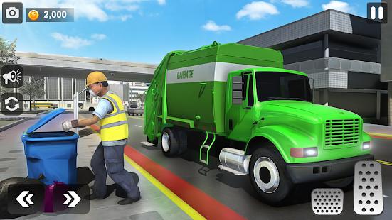 City Trash Truck Simulator: Dump Truck Games 1.37 Screenshots 4
