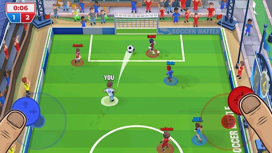 Soccer Battle Online PvP Mod Apk 1.23.0 (Unlimited Cash/Gold) 1