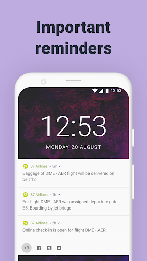 S7 Airlines: book flights android2mod screenshots 3