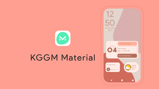 KGGM Material for KWGT Apk (Paid) for Android 9
