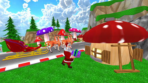 Santa Christmas Infinite Track screenshots 2
