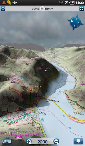 Outdoor and Hiking Navigation  screenshots 10