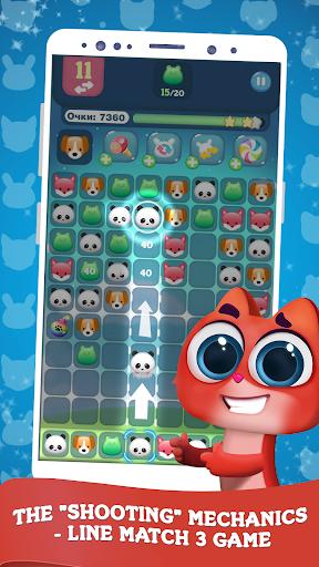 cutie paws   new style pop & match screenshot 1
