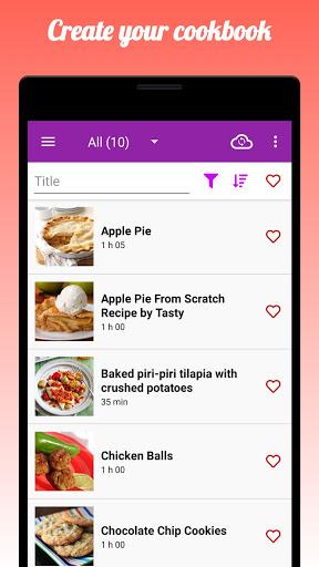 My Recipe Box : RecetteTek 5.9.6 Screenshots 1