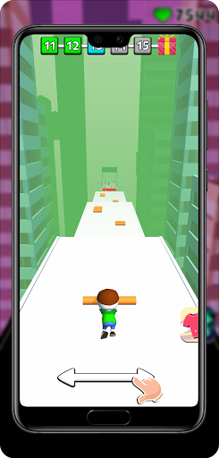 Rail Run: Sliding Run on Roof Rails - fun rush 1.0.25 screenshots 1