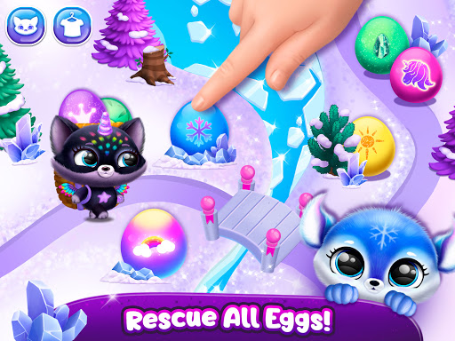 Fluvsies Pocket World - Pet Rescue & Care Story apkpoly screenshots 22