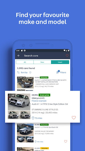 Auto Trader: Buy new & used cars. Search car deals apktram screenshots 3
