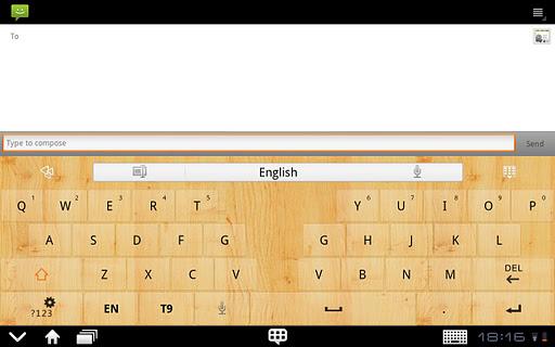 GOKeyboard WoodGraintheme(Pad) For PC Windows (7, 8, 10, 10X) & Mac Computer Image Number- 6