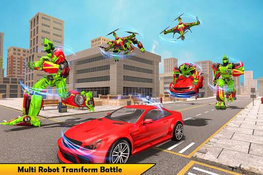 Drone Robot Transforming Game 2.3 screenshots 4
