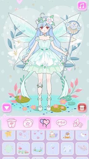 Vlinder Princess - Dress Up Games, Avatar Fairy 1.3.3 screenshots 5