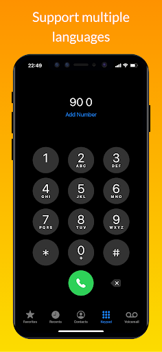 iCall – iOS Dialer, iPhone Call