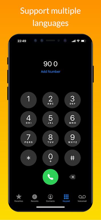 iCall – iOS Dialer, iPhone Call poster 5