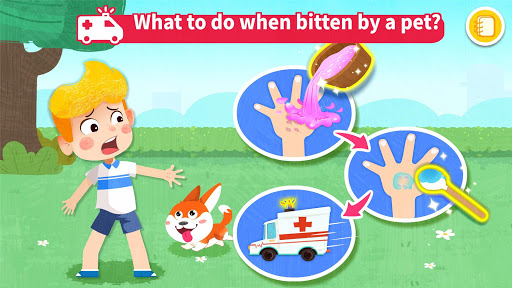 Baby Panda's First Aid Tips  screenshots 8