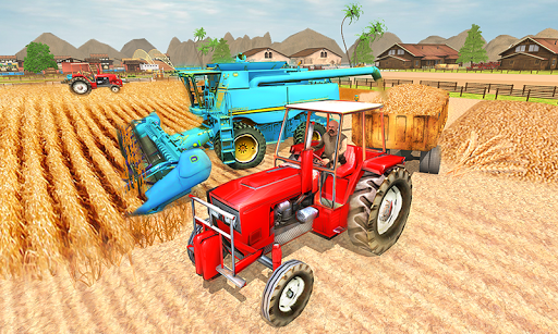 New Milford Tractor Farming Organic SIM Games 2019 apktreat screenshots 2