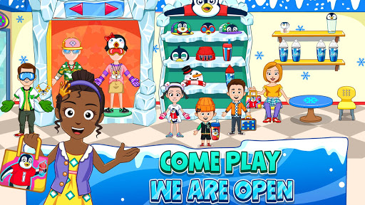 My Town : Fun Amusement Park Game for Kids Free screenshots 8