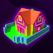 Glow House Voxel - Light Brite, Neon Draw & Color