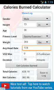 Calories Burned Calculator  For Pc – Free Download In Windows 7/8/10 & Mac 2