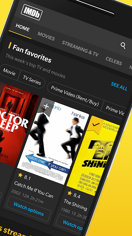 IMDb: Your guide to movies, TV shows, celebrities  poster 1