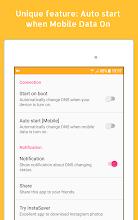 Change DNS Pro (No Root 3G, 4G, Wifi) screenshot thumbnail