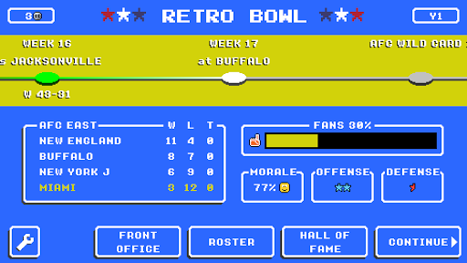 Retro Bowl 1.4.42 screenshots 13