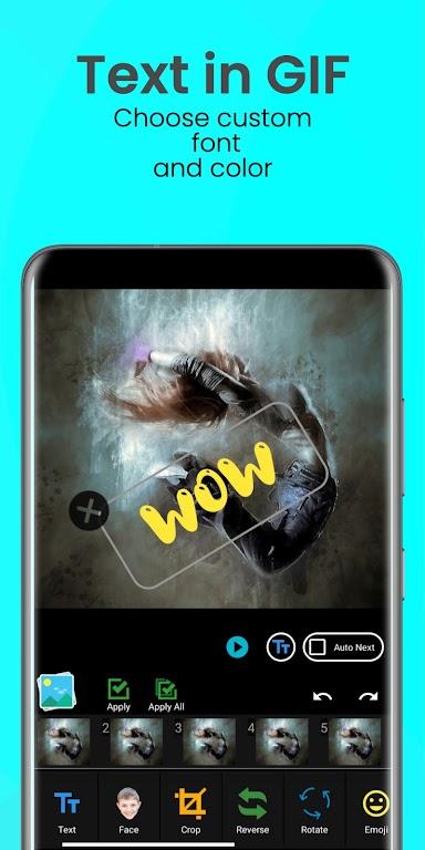 Easy GIF: GIF Editor, GIF Maker, Reface, Video GIF poster 6