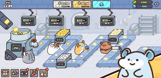 倉鼠餅乾工廠 - 大亨遊戲