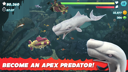 Hungry Shark Evolution MOD APK 8.2.0 (Unlimited Money) 4