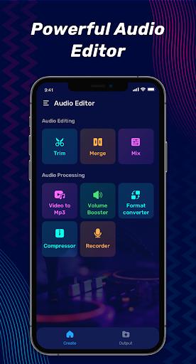 Audio Editor Pro - Music Editor, Sound Editor  screenshots 1