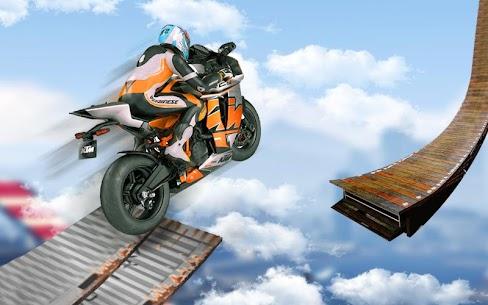 Bisiklet İmkansız Raylar Yarış: Motosiklet Stunts Full Apk İndir 1