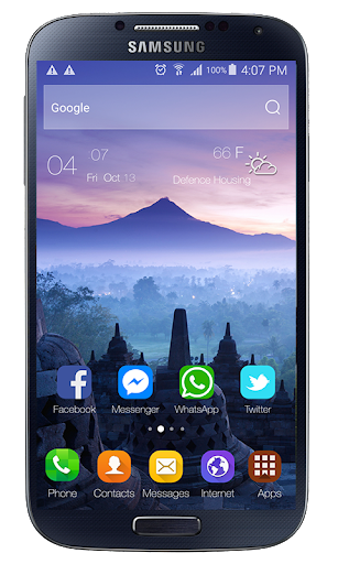 theme for xiaomi mi 10 launcher screenshot 1