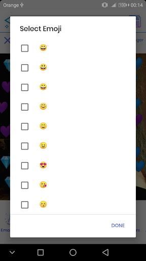 Emoji Photo Editor ud83dudc99 (Emoji & Crown Heart Emoji) 3.1 Screenshots 7