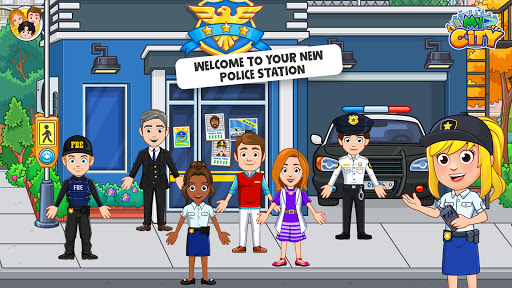 My City: Cops and Robbers - Police Game for Kidsud83dudc6e  screenshots 1